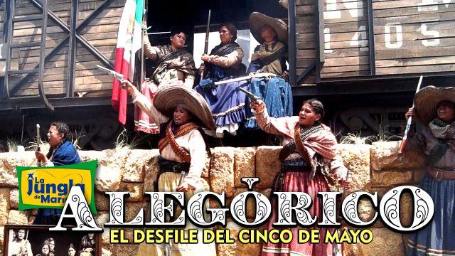 Alegórico: el desfile del 5 de Mayo