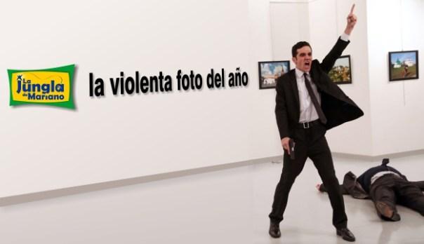 La violenta foto del año