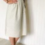 Jupe midi Hermione - La jupe Normande - vêtements et accessoires made in Normandie