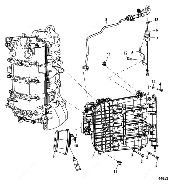 Mercury/Mariner 115 EFI 4-Stroke, Integrated Air Fuel
