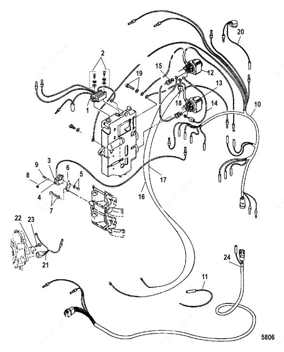Mercury/Mariner 40 Lightning International, Electrical