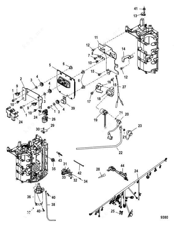Mercury/Mariner 60 EFI 4 Cyl. 4-Stroke, Electrical