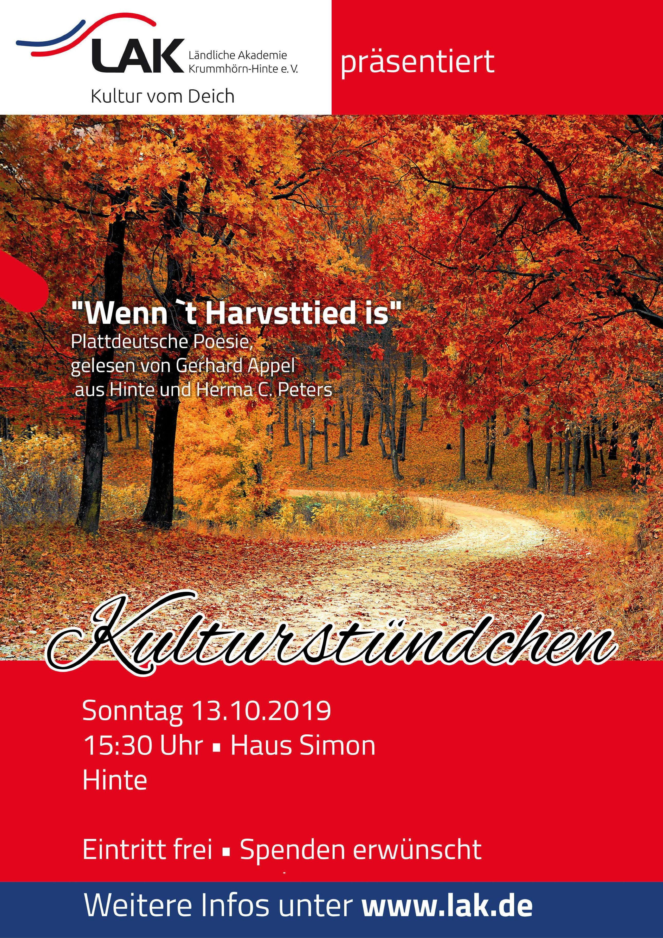 19-10-13 - Kulturstündchen