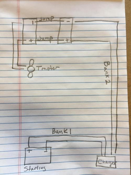 small resolution of 12 24 wiring diagram for boat with onboard charger and 3 batteries12 24 wiring diagram for