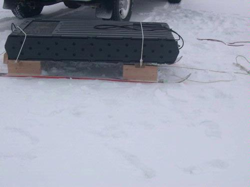 Homemade Ice Fishing Shelter