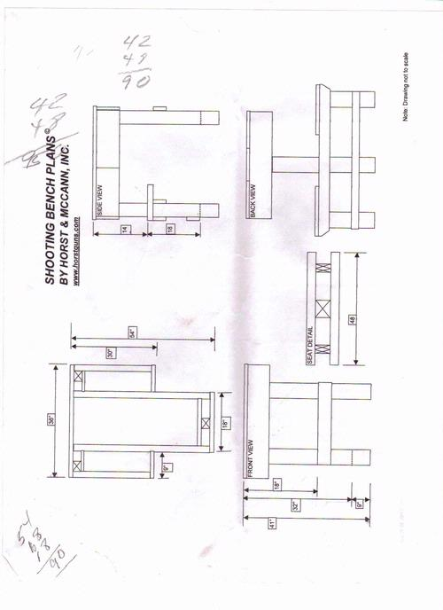 shooting bench plans nra
