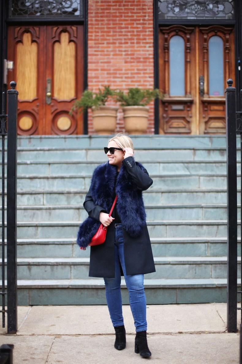 Blue-fur-scarf