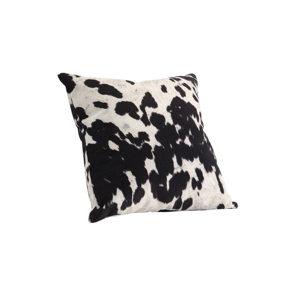 Margarida+Cow+Hide+Print+Throw+Pillow