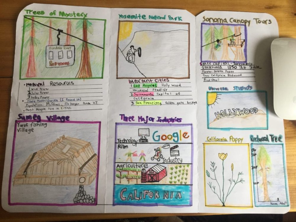 medium resolution of Fifth Grade Sample Lesson - Lake Champlain Waldorf School