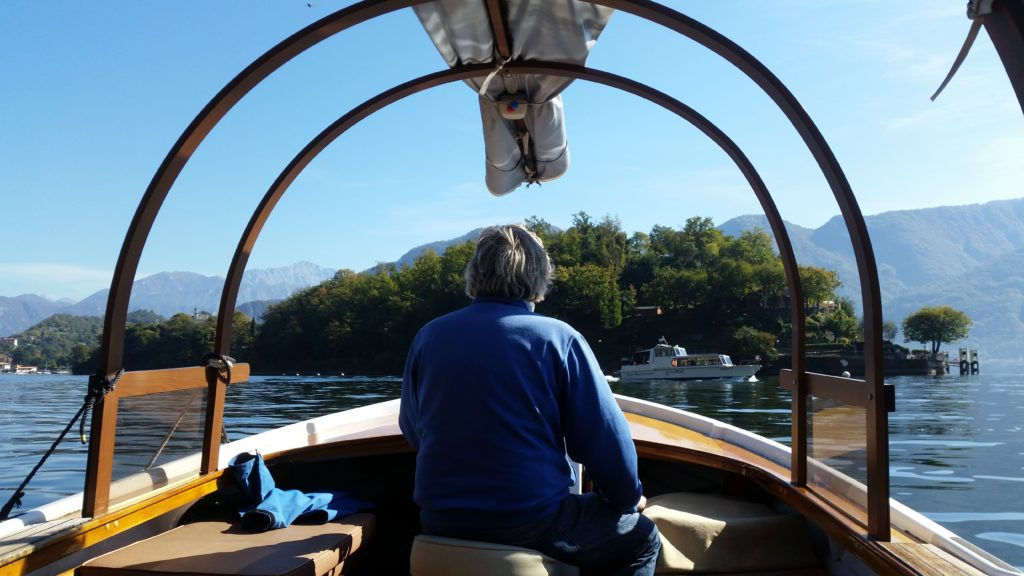 Isola Comacina Taxi Boat