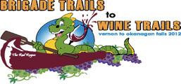 Brigade Trails to Wine Trails logo