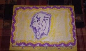panther cake