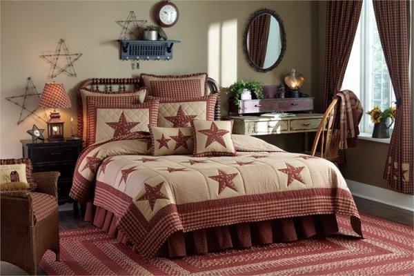 Sturbridge Patch Wine Quilt and Bedding by Park Designs