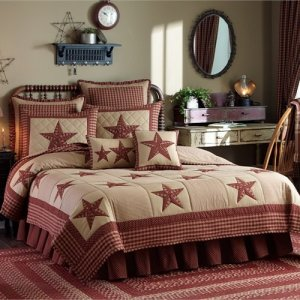 Sturbridge Patch Wine Quilt and Bedding by Park Designs