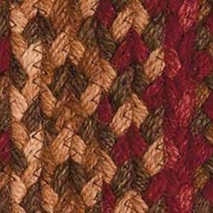 Cinnamon Braided Rugs by IHF
