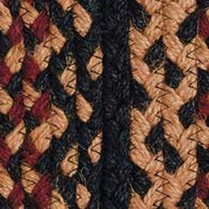 Blackberry Braided Rugs by IHF BR184
