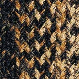 Black Forest Braided Rugs by IHF