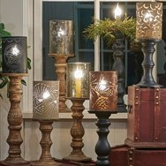 Candlestick Lamps