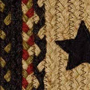 Tartan Star Braided Rugs