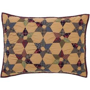 Tea Star Quilted Shams by VHC Brands