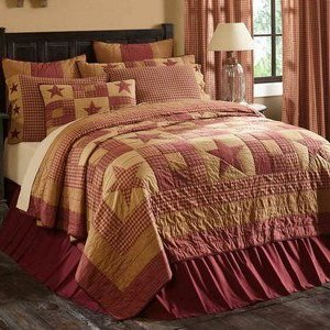 Ninepatch Star Bedding by VHC Brands