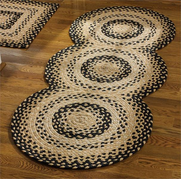 Cornbread Braided Rug Runner 30 X 72 By Park Designs Lake Erie Gifts Decor