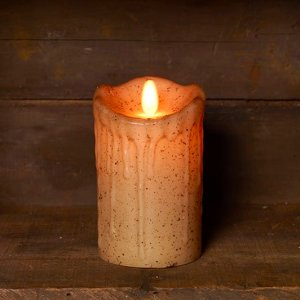 Battery Pillar Candles