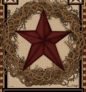 Country and Primitive Style Garden Flags, Doormats and Mailbox Covers
