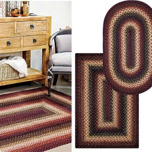 Prescott Jute Braided Rugs by Homespice Decor