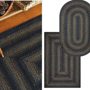 Raven Jute Braided Rugs by Homespice Decor