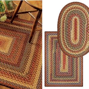Biscotti Cotton Braided Rugs by Homespice Decor