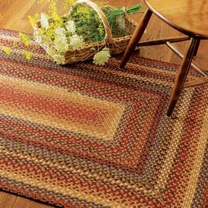 Cotton Braided Rugs by Homespice Decor