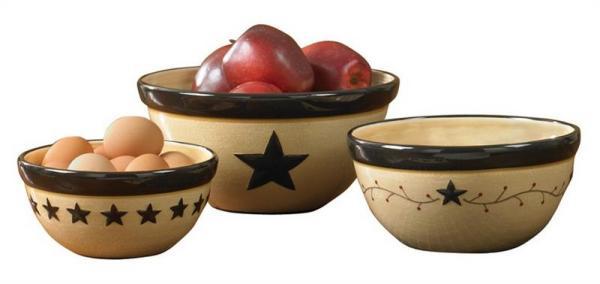 Star Vine Mixing Bowl Set