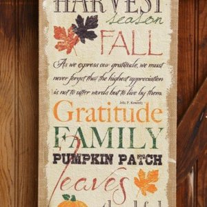 Harvest Wall Decor