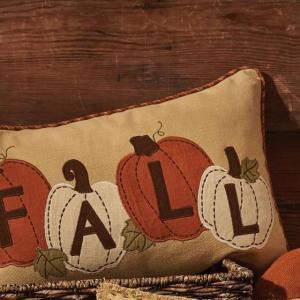 Fall Applique Pillow