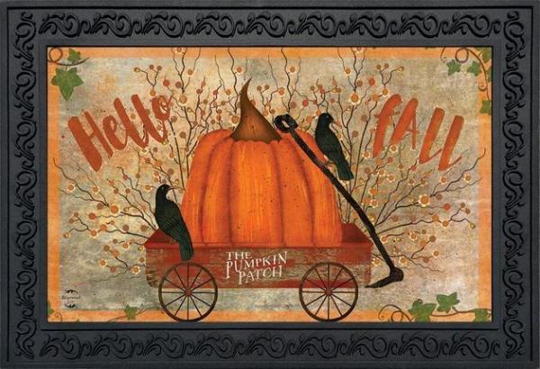 Prized Pumpkin Indoor/Outdoor Doormat
