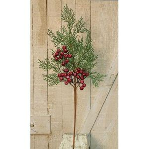 Cedar Pick with Berries