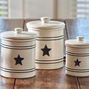 Country Star Canister Set Park Designs
