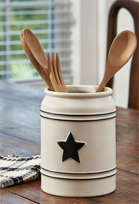 Country Star Utensil Crock by Park Designs