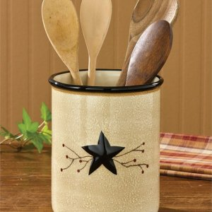 Star Vine Utensil Crock by Park Designs
