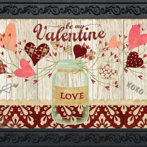 Lovely Hearts Indoor Outdoor Doormat