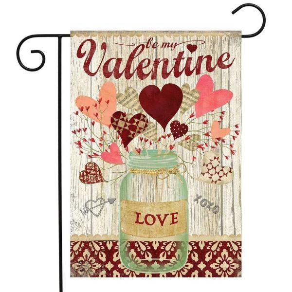 Lovely Hearts Garden Flag
