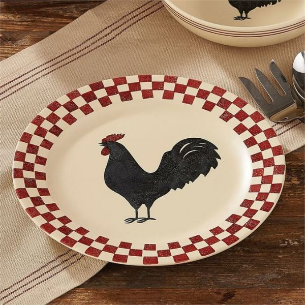 "Hen Pecked 13"" Platter by Park Designs"