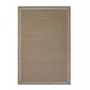 Somerset Horizon Taupe Ultra Durable Braided Rugs by Homespice Decor