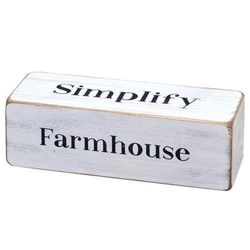 Farmhouse Four-Sided Block