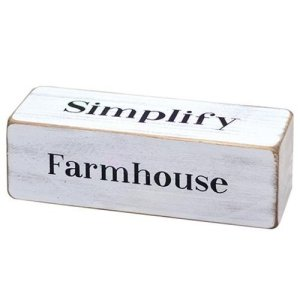 Farmhouse Four-Sided Block