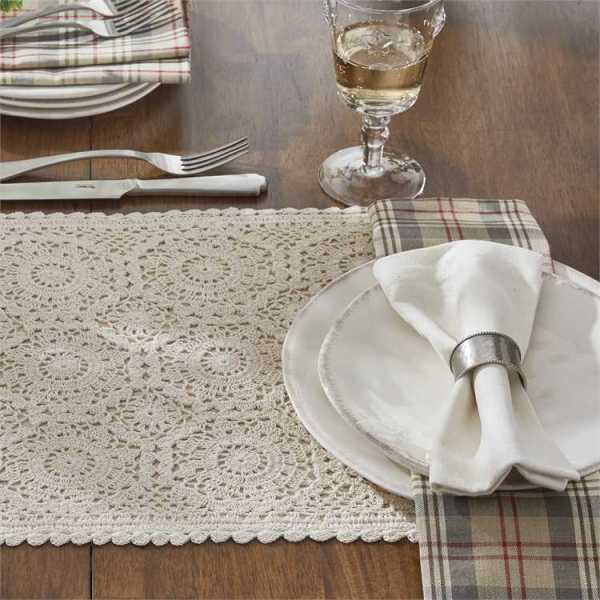 Cream Lace Placemat