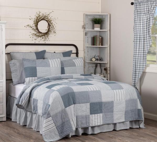 Sawyer Mill Blue Quilt VHC Brands