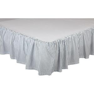 Sawyer Mill Blue Bed Skirt by VHC Brands