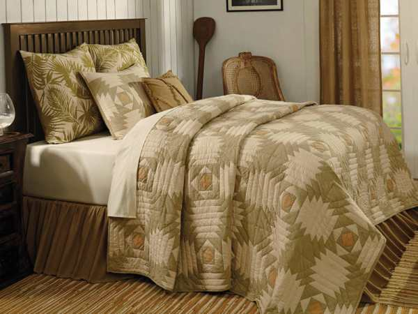Tradewinds Queen Quilt by VHC Brands